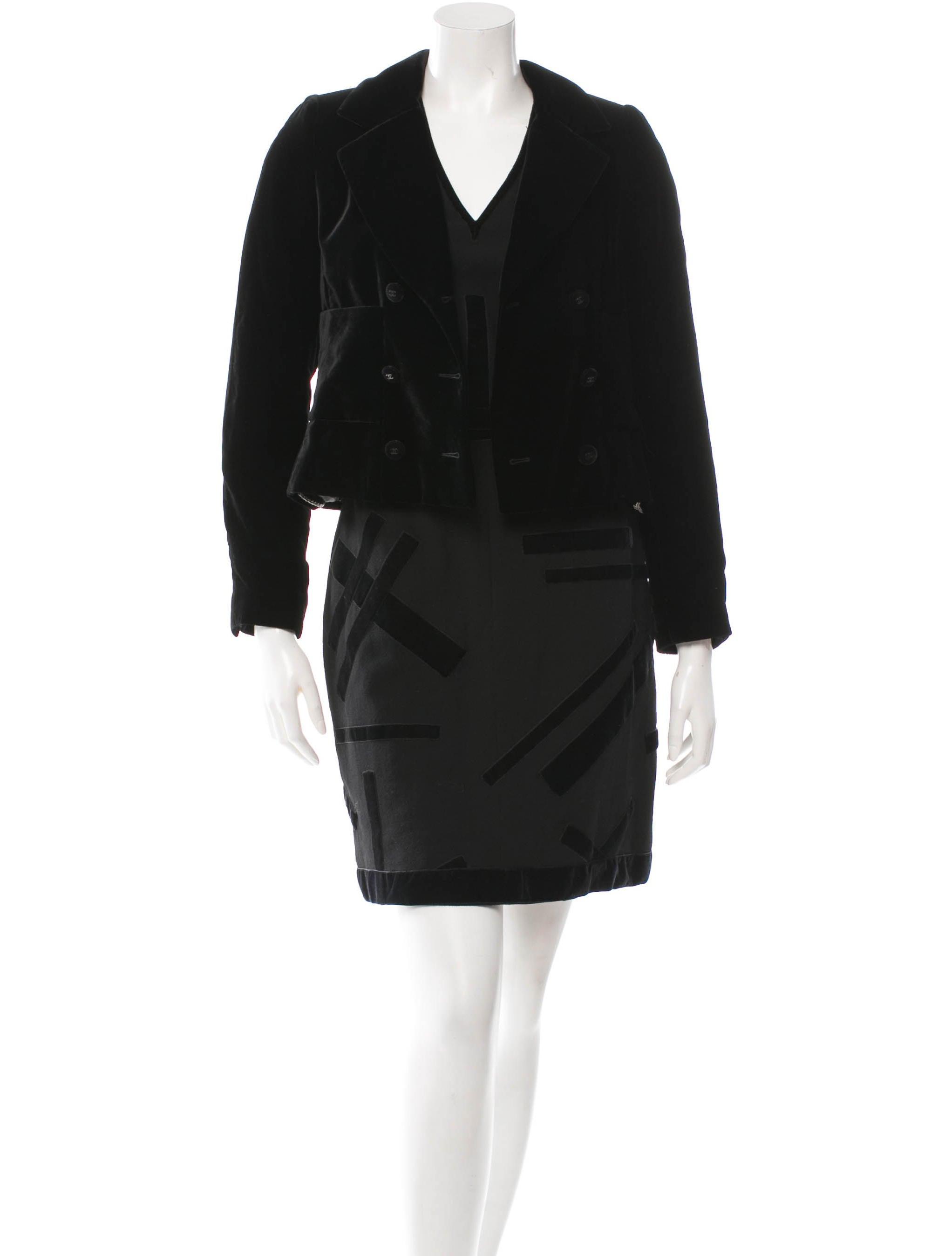 Velvet Skirt Suit 31