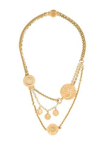 Chanel 18K Diamond Charm Necklace