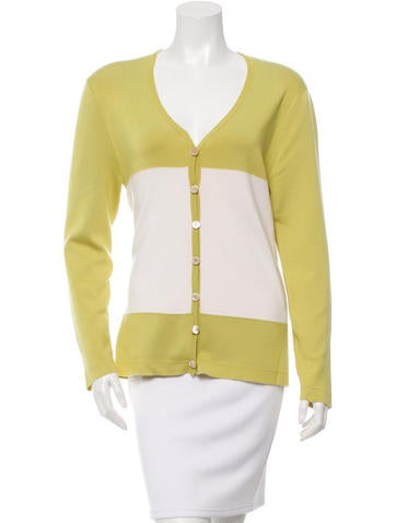 Ralph Rucci Cashmere & Silk-Blend Cardigan None