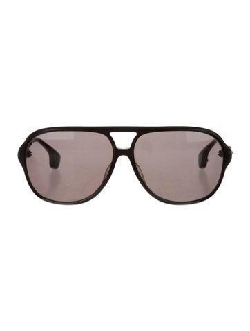 Chrome Hearts Embellished Aviator Sunglasses