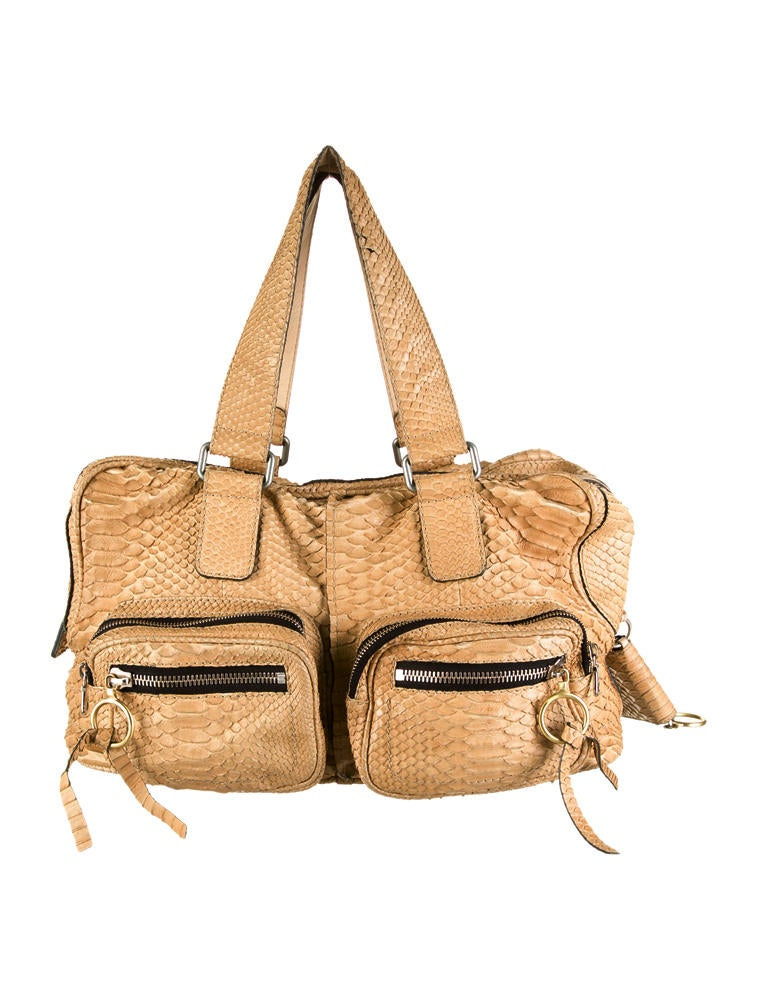 replica chloe purses - chloe python betty bag , chloe marcie bag knockoff