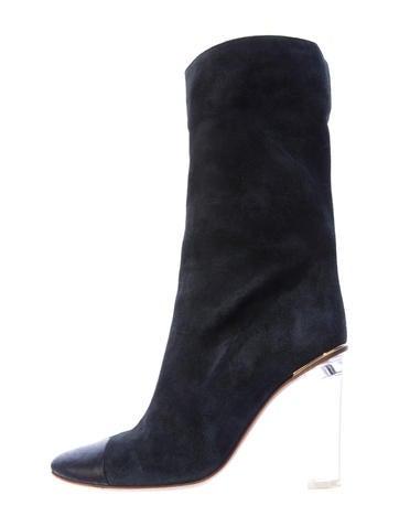 Chloé Cap-Toe Boots