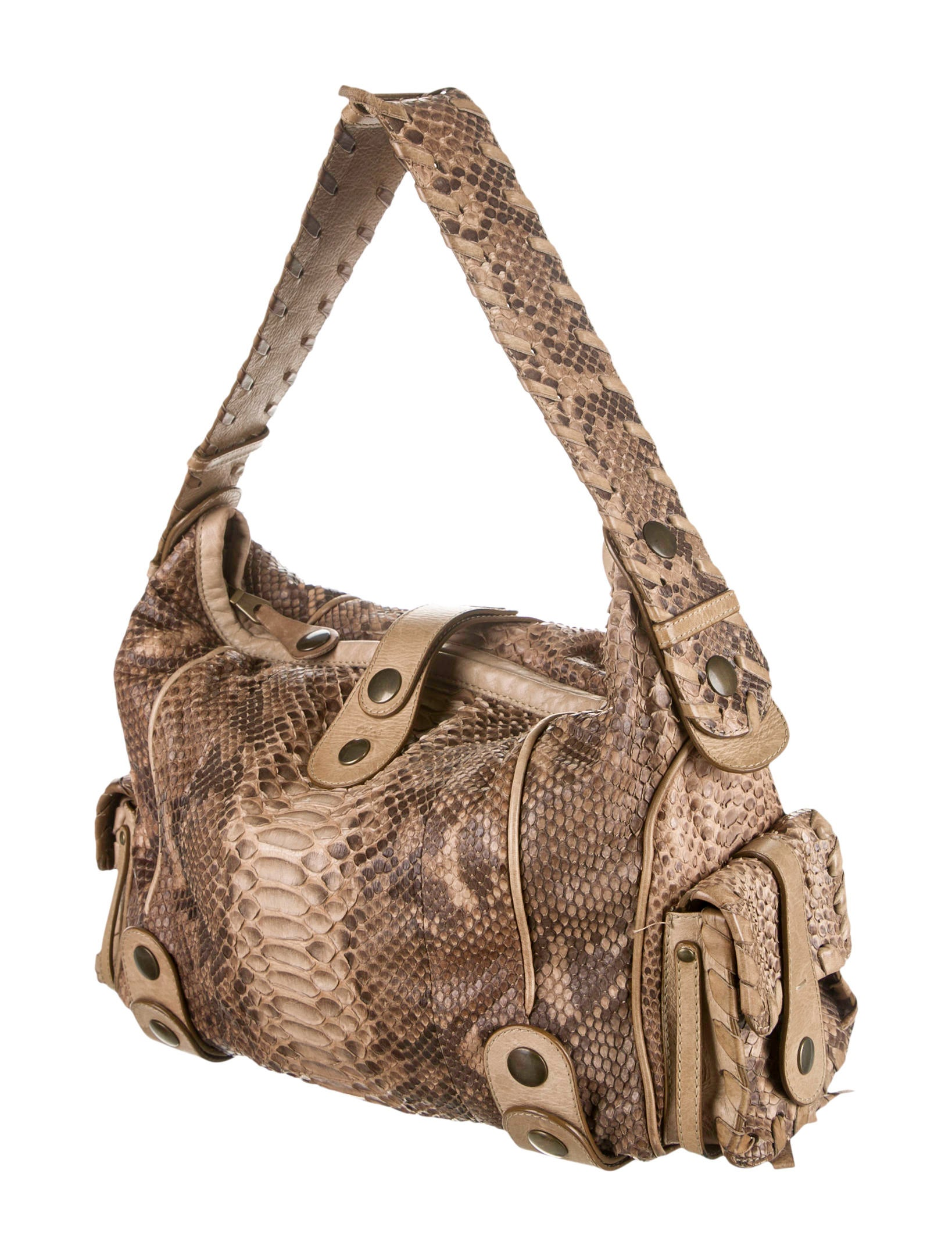 Chlo�� Python Handle Bag - Handbags - CHL29094 | The RealReal