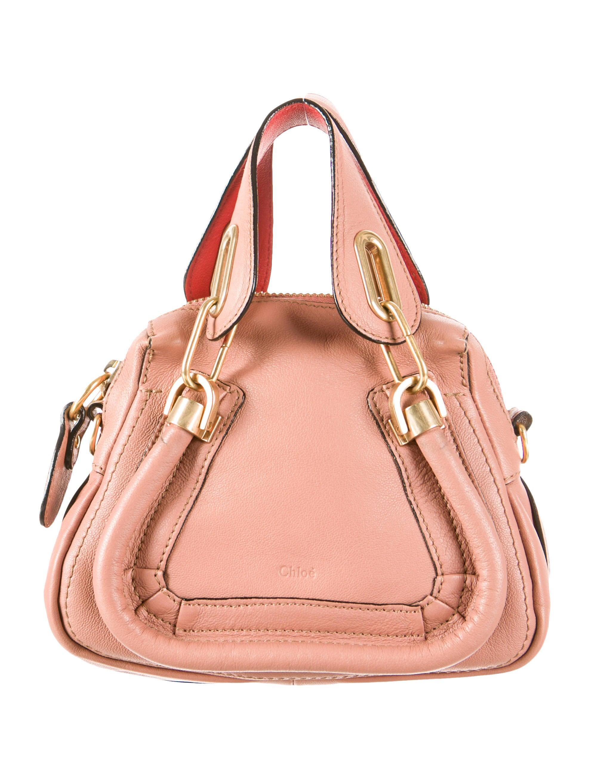 Chlo¨¦ Mini Paraty Bag - Handbags - CHL31556 | The RealReal