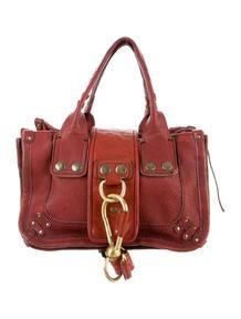 Chlo�� Patent Leather Handle Bag - Handbags - CHL35903 | The RealReal