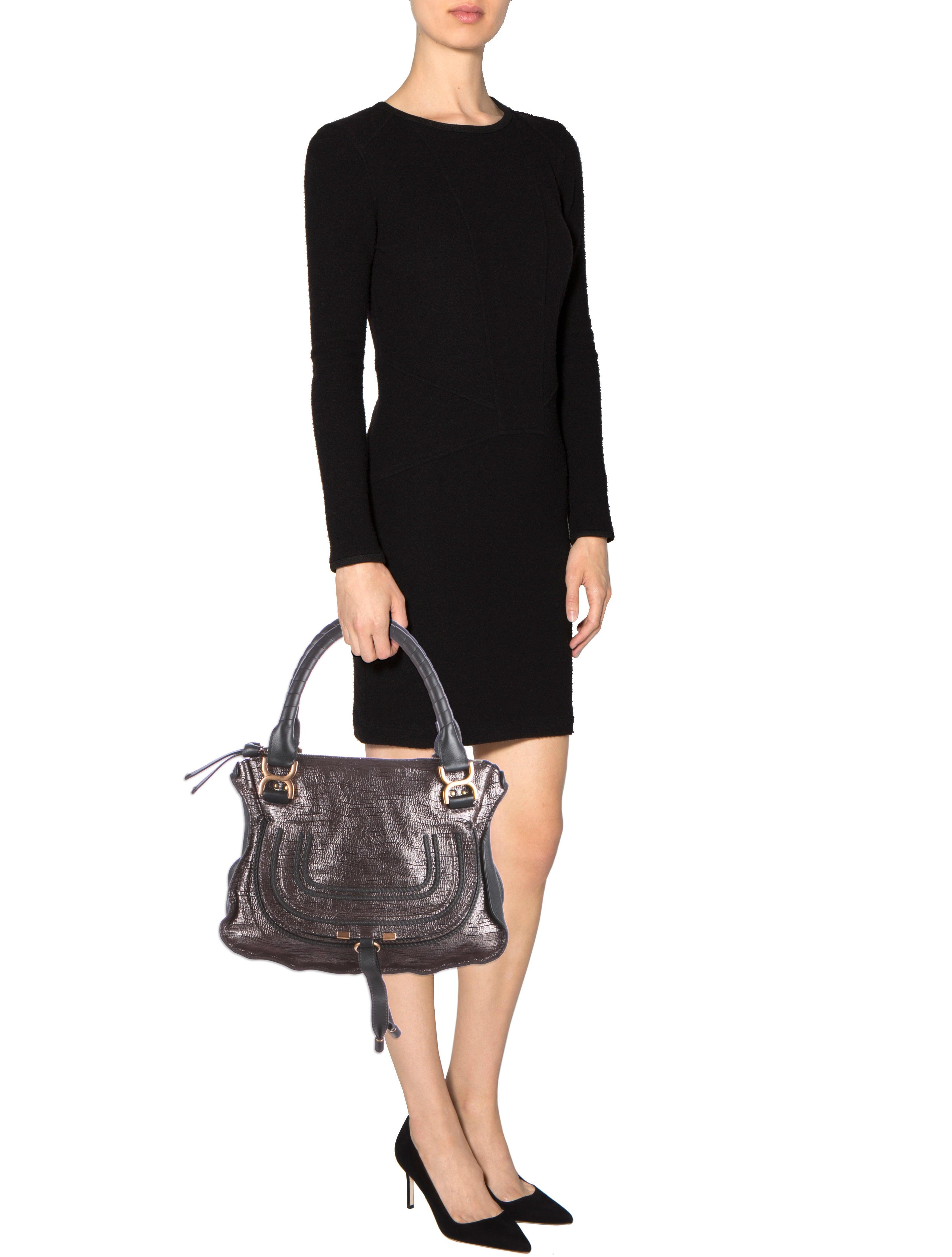 Chlo�� Metallic Marcie Handle Bag - Handbags - CHL36532 | The RealReal
