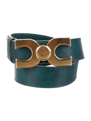 Chloé Logo-Embellished Belt