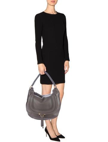 Chlo�� Leather Marcie Hobo - Handbags - CHL36869 | The RealReal