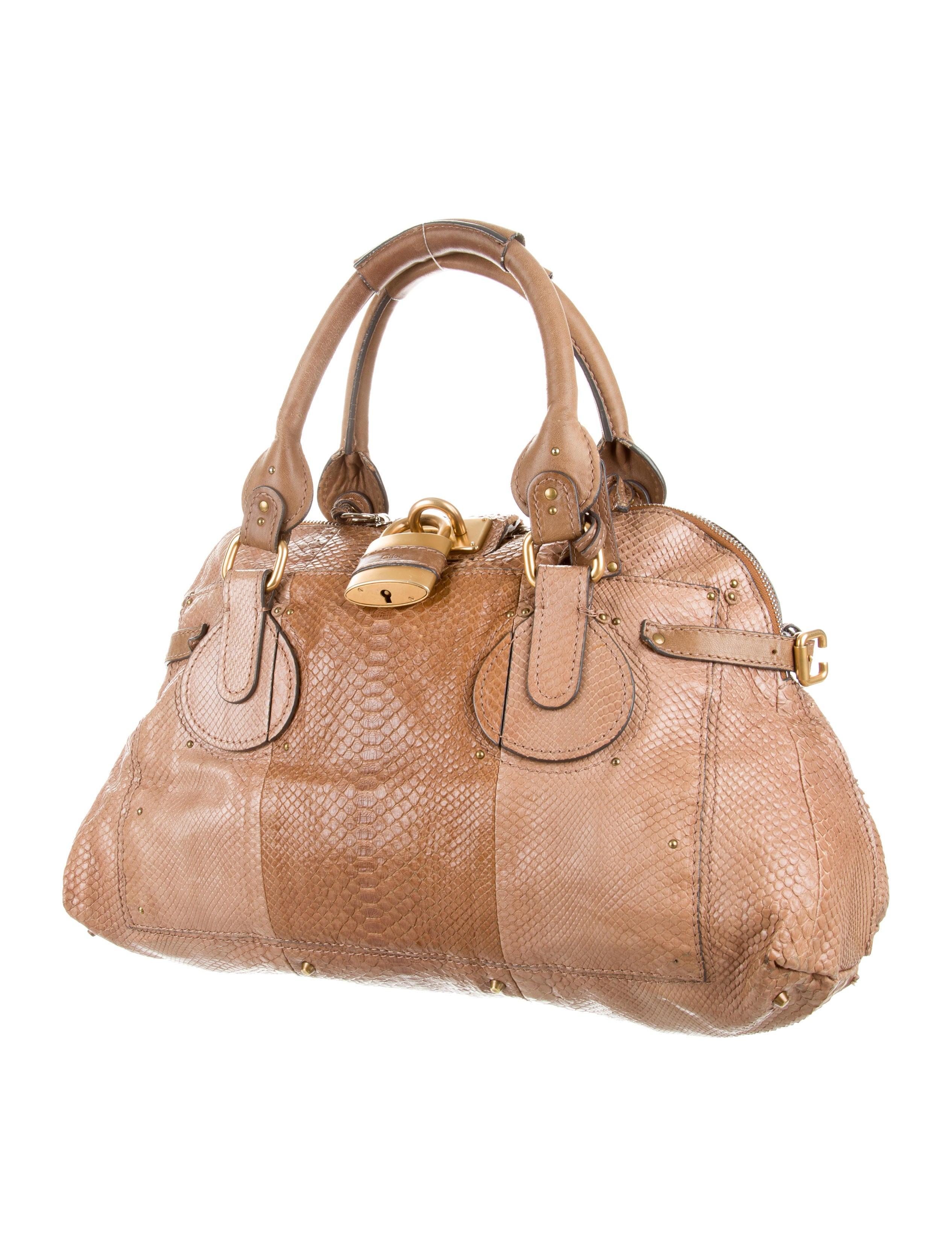 chloe marcie bag knockoff - chloe python paddington bag, chloe handbags replica uk