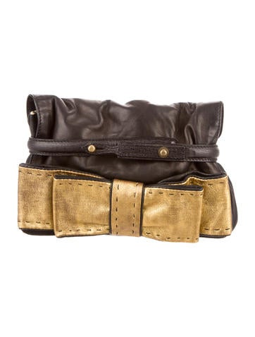 Chlo�� Clutches Luxury Fashion   The RealReal