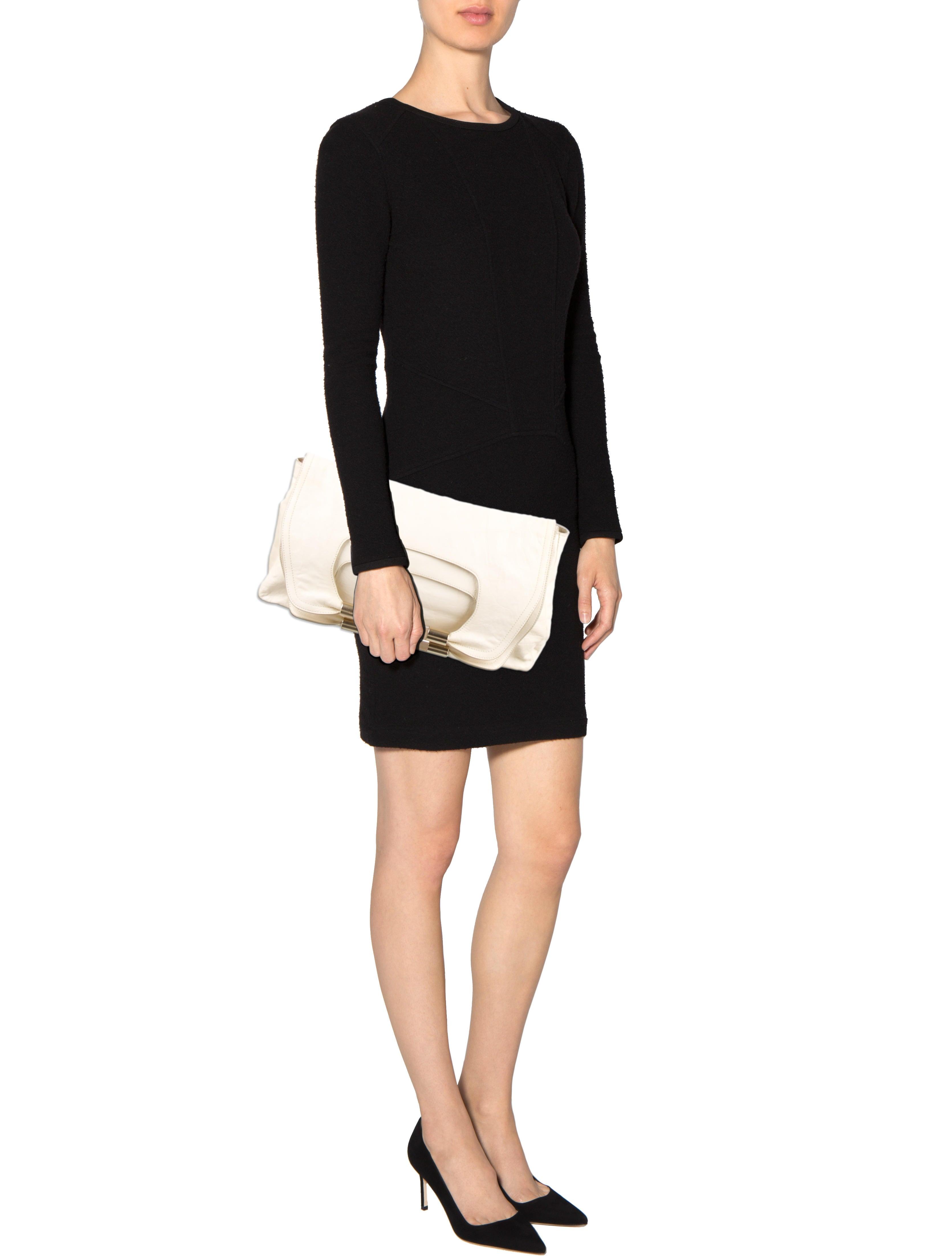 Chlo�� Large Nancy Clutch - Handbags - CHL37952 | The RealReal