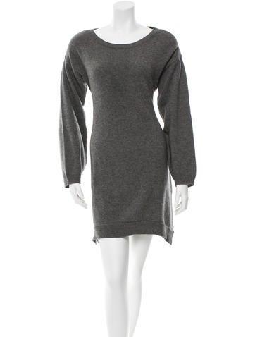 Chloé Long Sleeve Sweater Dress None