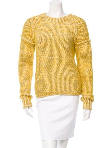 Chloé Crew Neck Knit Sweater None