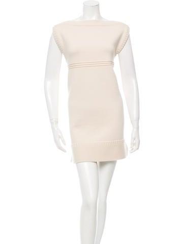 Chloé Wool Sweater Dress None