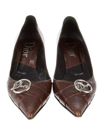 Christian Dior Pointed-Toe Pumps