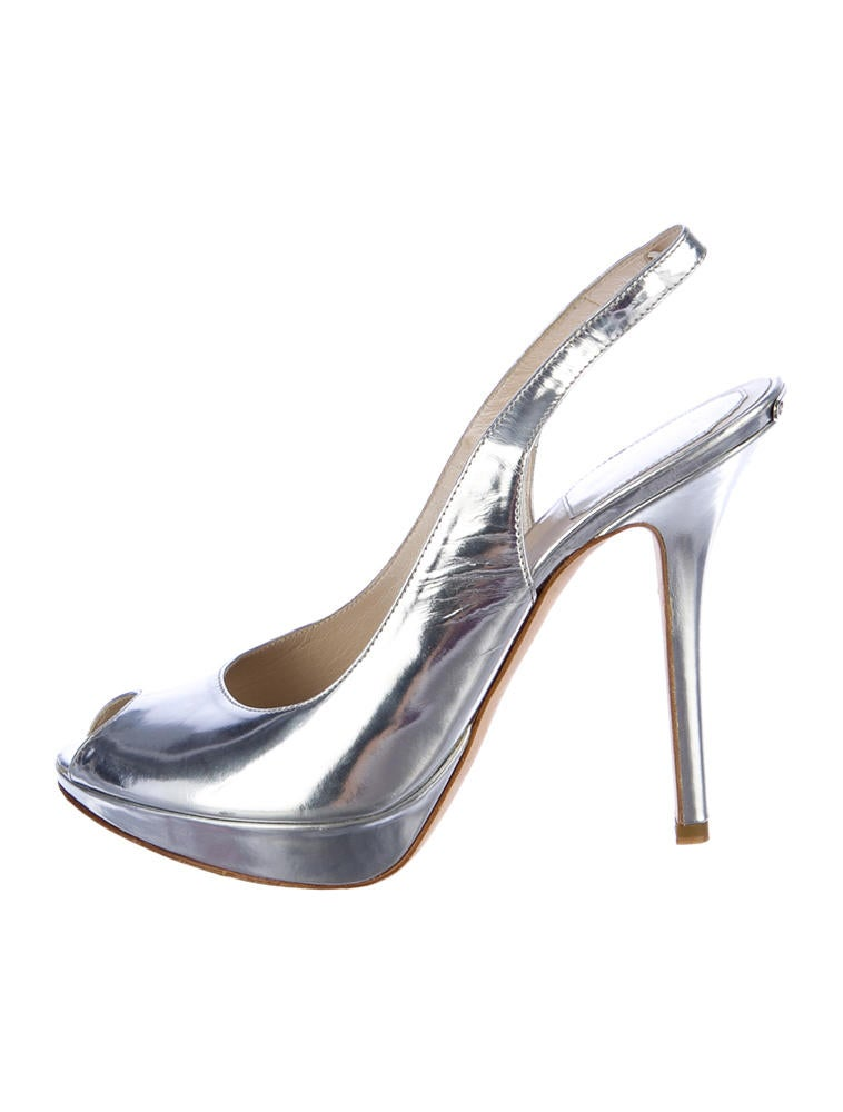 Christian Dior Metallic Pumps