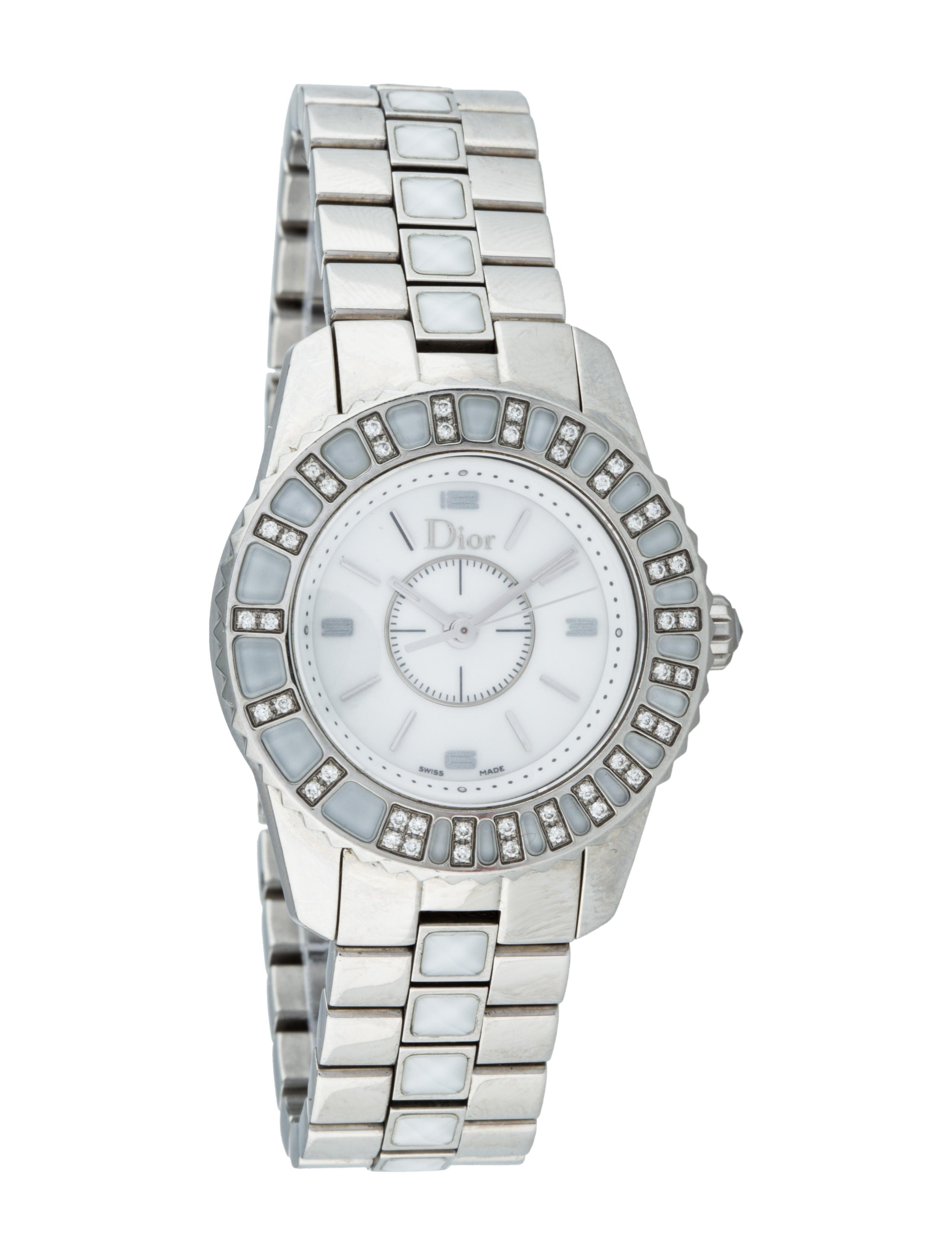 Christian dior christal watch fine watches chr29411 the realreal for Christian dior watches