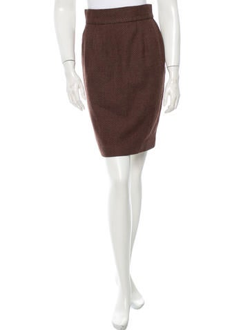 Christian Dior Wool Skirt None