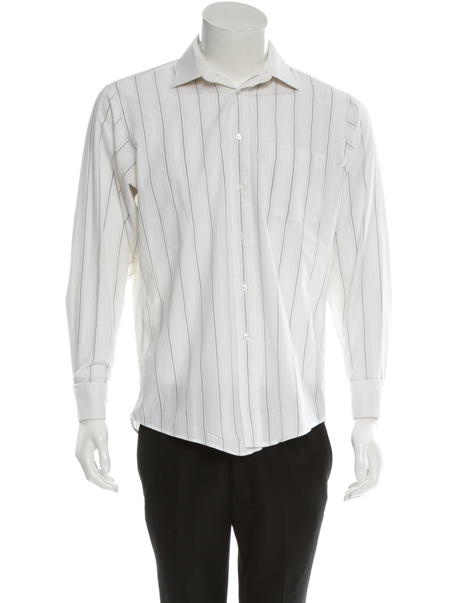 Christian dior shirt mens shirts chr32800 the realreal for Christian dior button up shirt