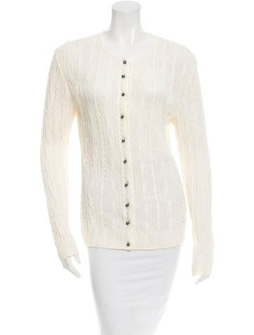 Christian Dior Long Sleeve Cardigan None