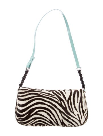 Zebra Print Shoulder Bag 76