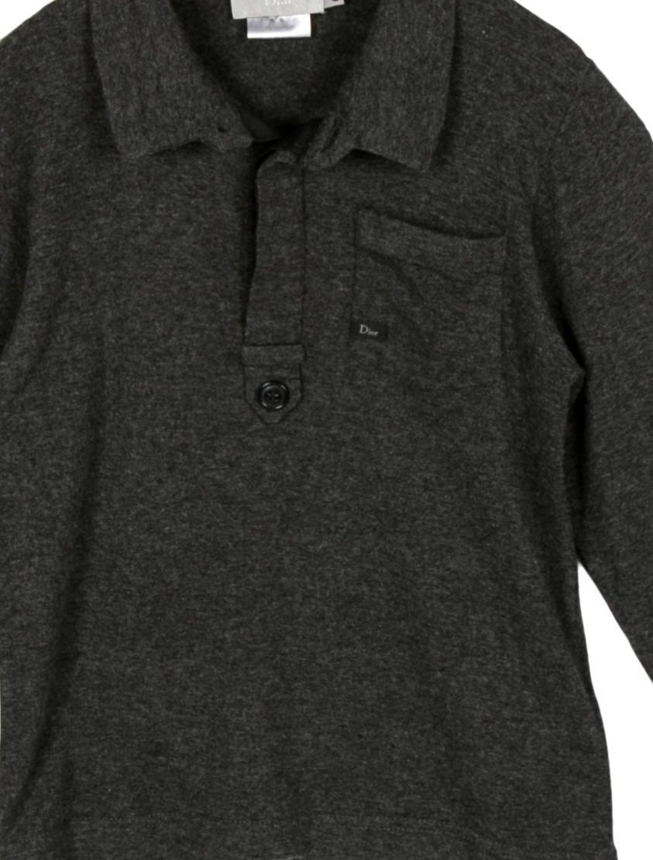 Christian dior boys 39 long sleeve polo shirt boys for Long sleeved polo shirts for boys