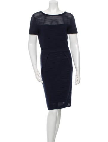 Christian Dior Knit Sheath Dress None