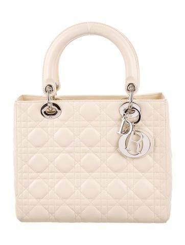 Christian Dior Medium Lady Dior Bag None