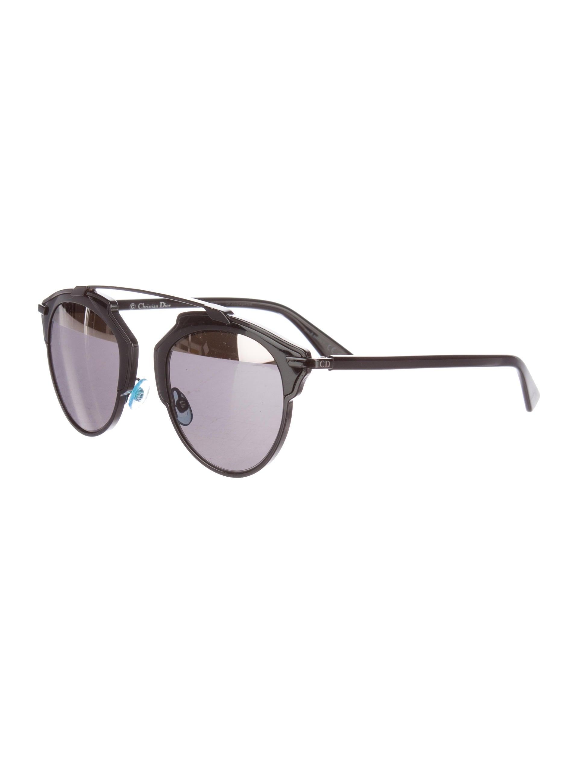 6a2f7f01fde Christian Dior So Real Split Sunglasses - Accessories - CHR44453