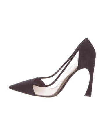 Christian Dior Suede Skin Pumps w/ Tags None