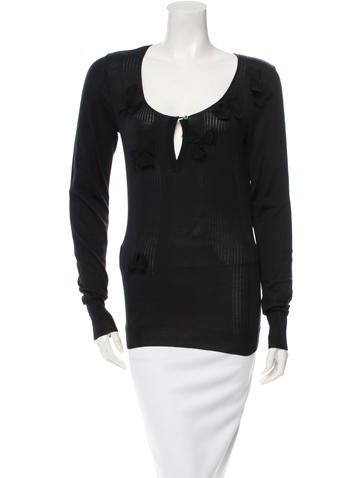 Christian Dior Long Sleeve Top None