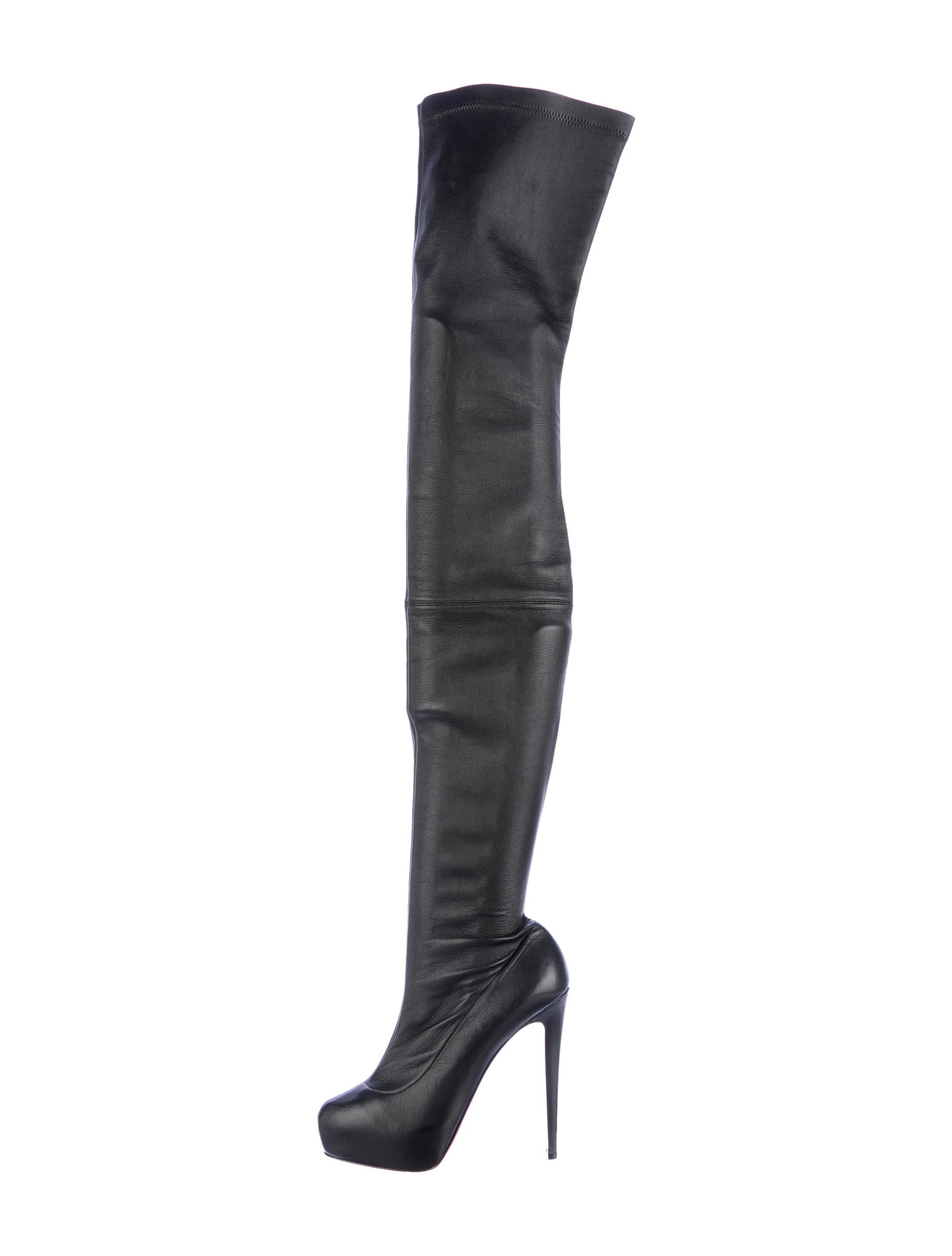 on sale 0cf8d ef3d1 Artesur » christian louboutin Monicarina thigh high boots ...