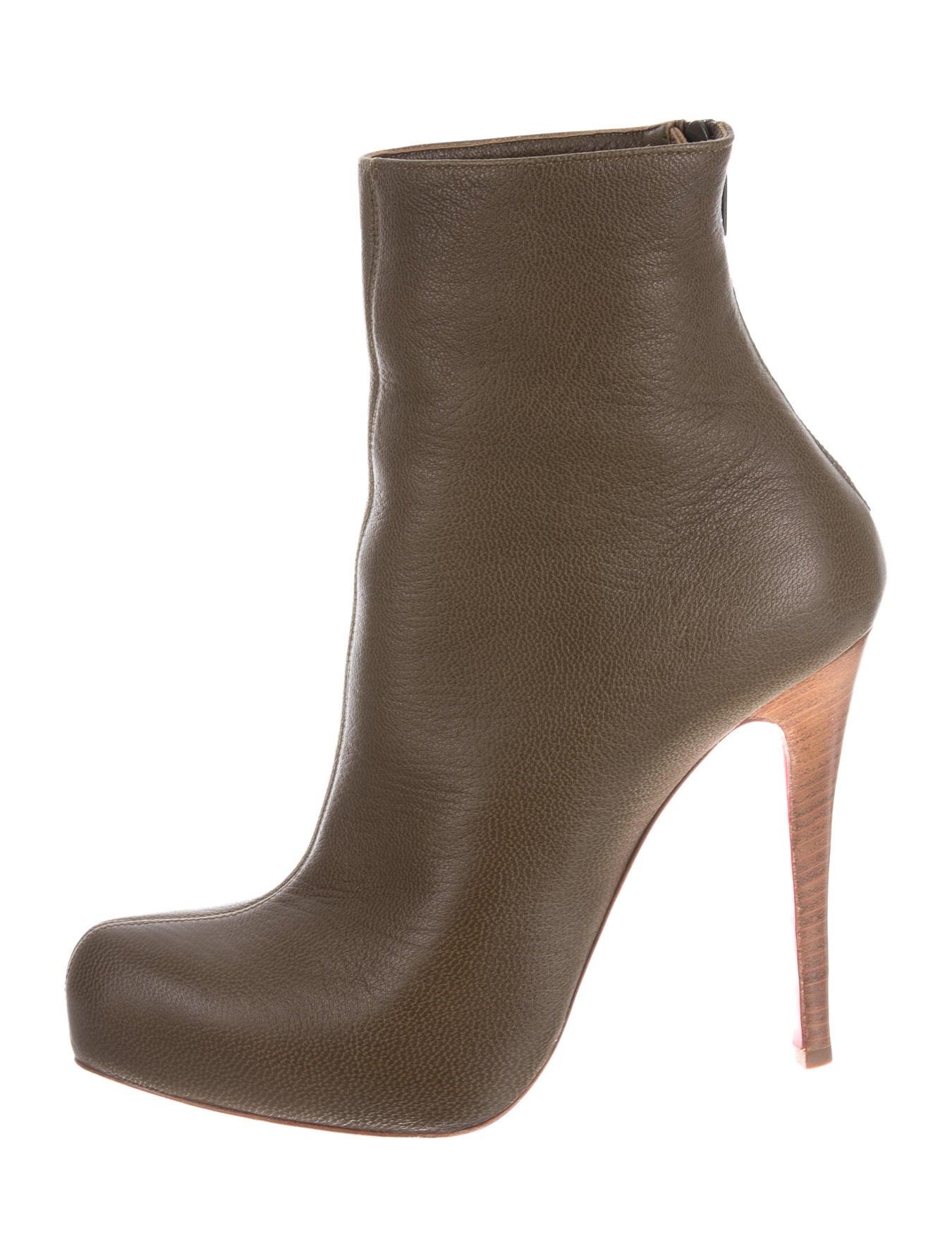 check-out de917 25aee Artesur » christian louboutin Arielle A Talon ankle boots ...