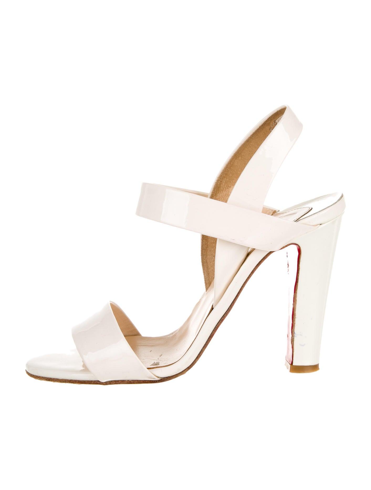 louboutin heeled sandals