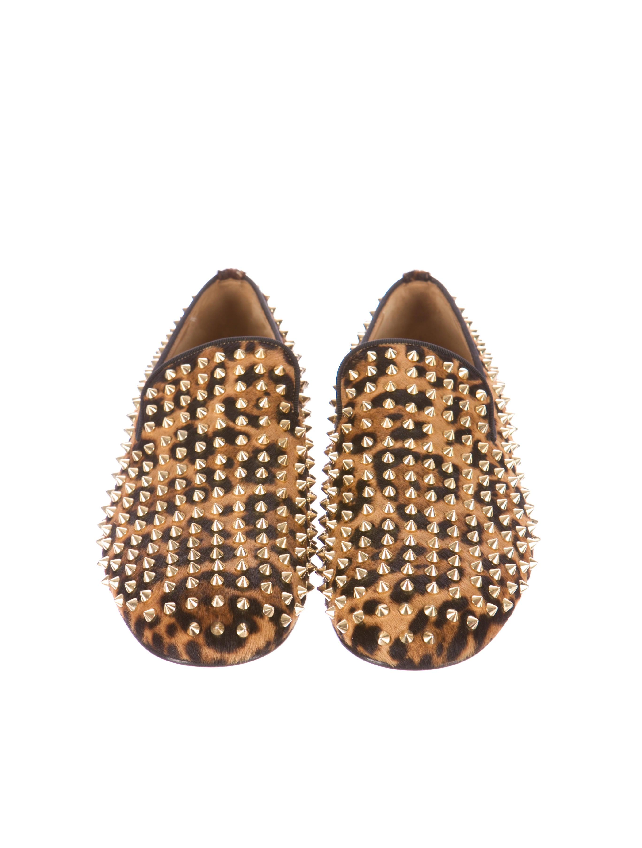 Christian Louboutin Dandelion Smoking Slippers - Mens Shoes ...