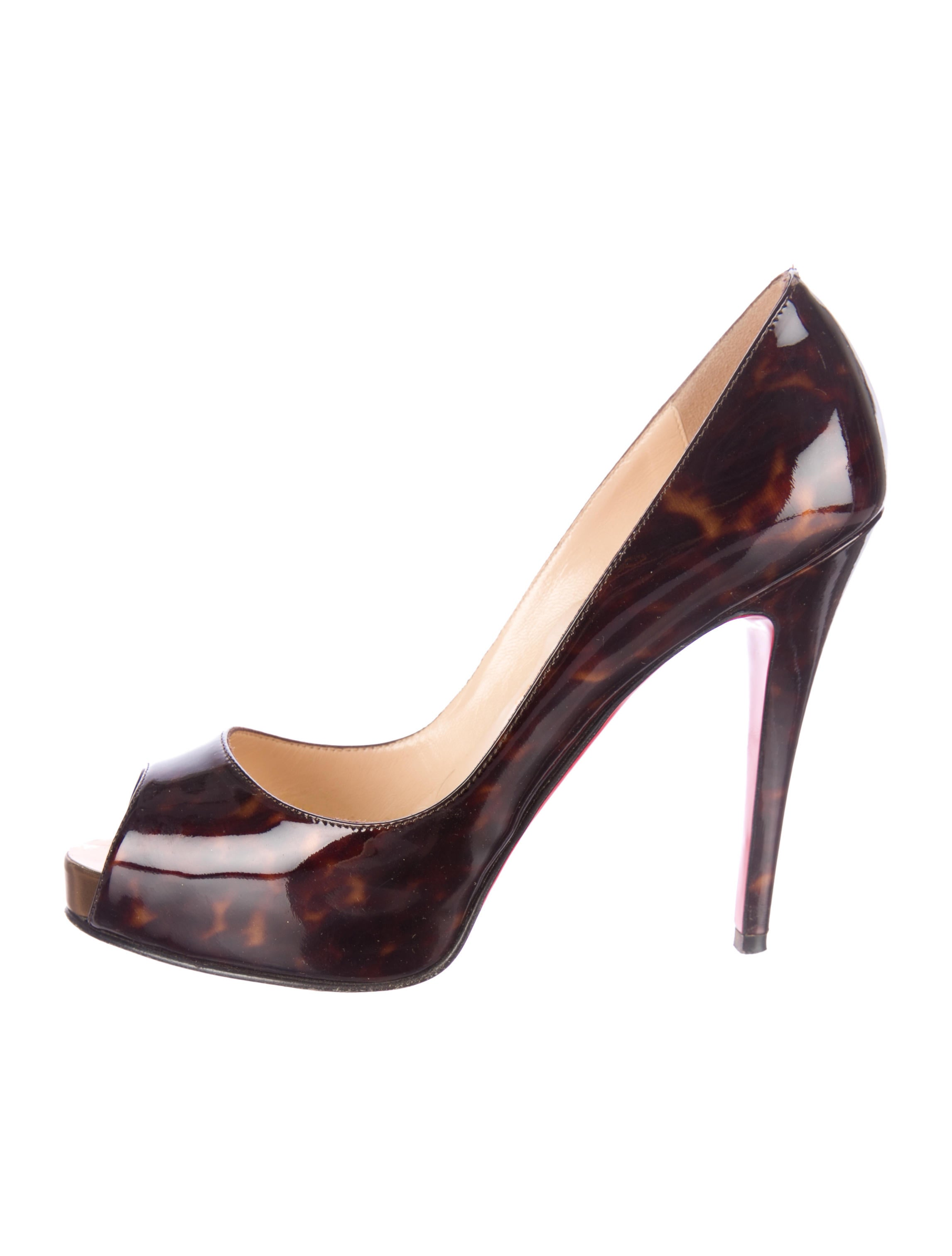replicas shoes - Artesur ? christian louboutin tortoiseshell print Very Prive ...