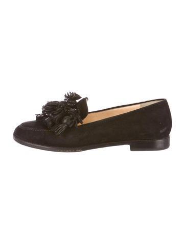 Artesur ? christian louboutin loafer pumps Brown tassels