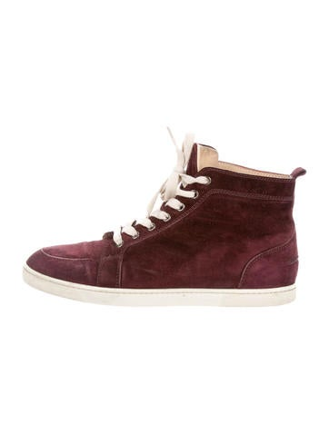 info for 98fc0 b0b00 Artesur » christian louboutin suede round-toe high top ...