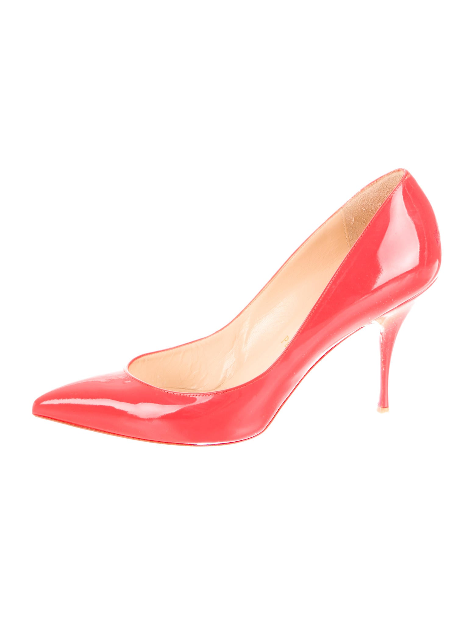 red bottom dress shoes for men - christian louboutin Piou Piou pointed-toe pumps Black patent ...