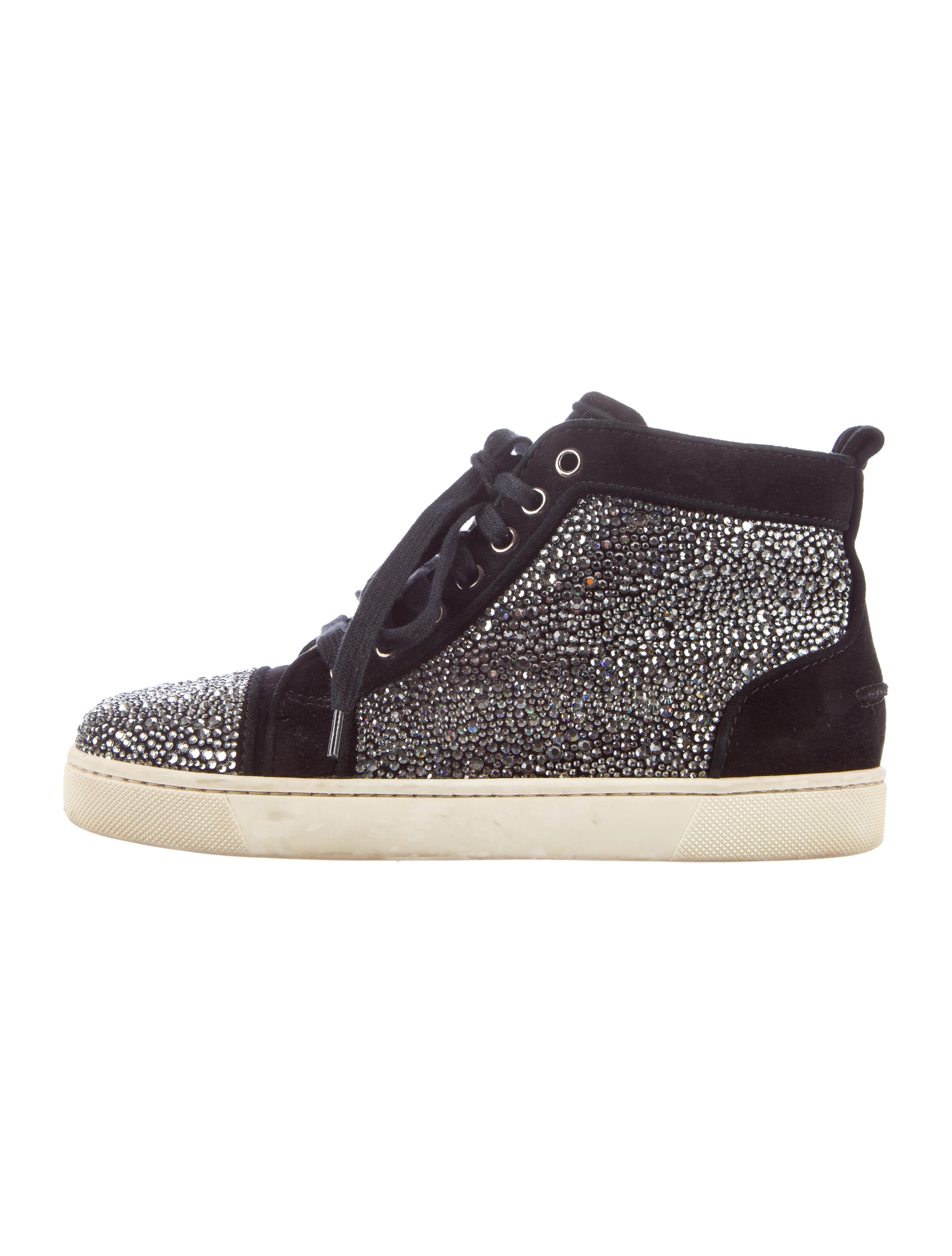 online store f74a1 fb4e9 Artesur » christian louboutin round-toe Strass sneakers