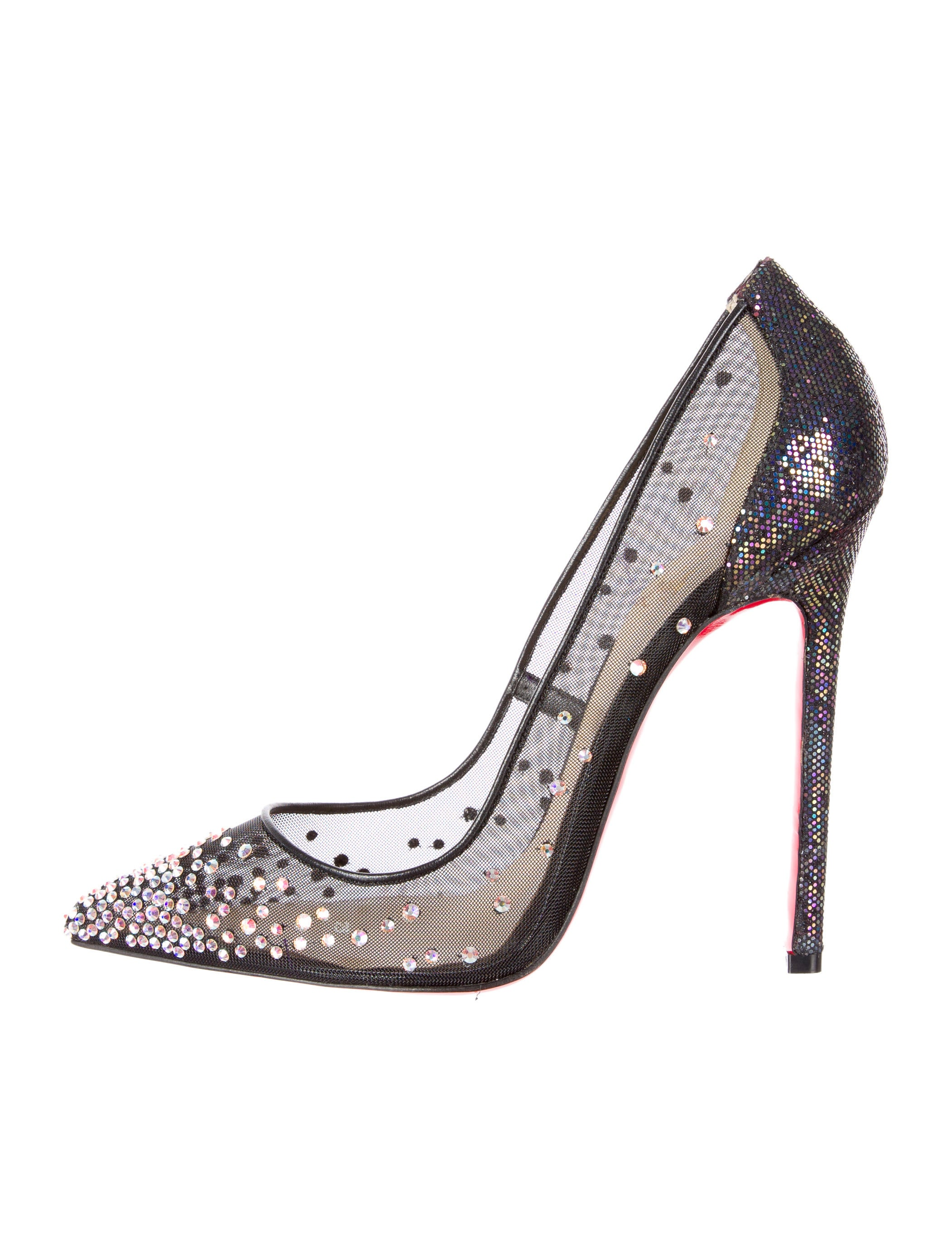 quality design 230e2 c47f0 Artesur » christian louboutin Follies Strass pumps Black ...