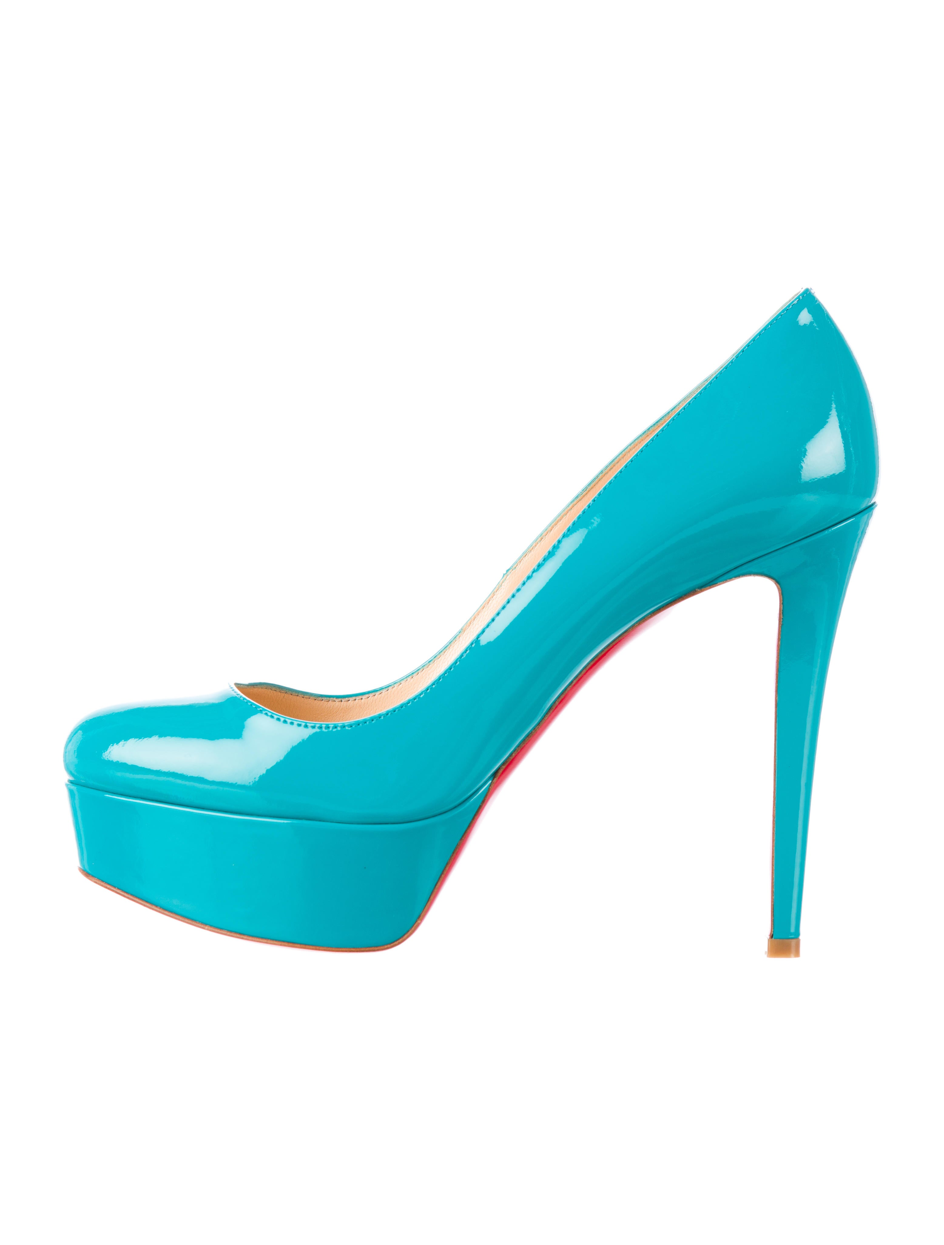 spiked mens shoes - Artesur ? christian louboutin patent leather Bianca platform pumps ...
