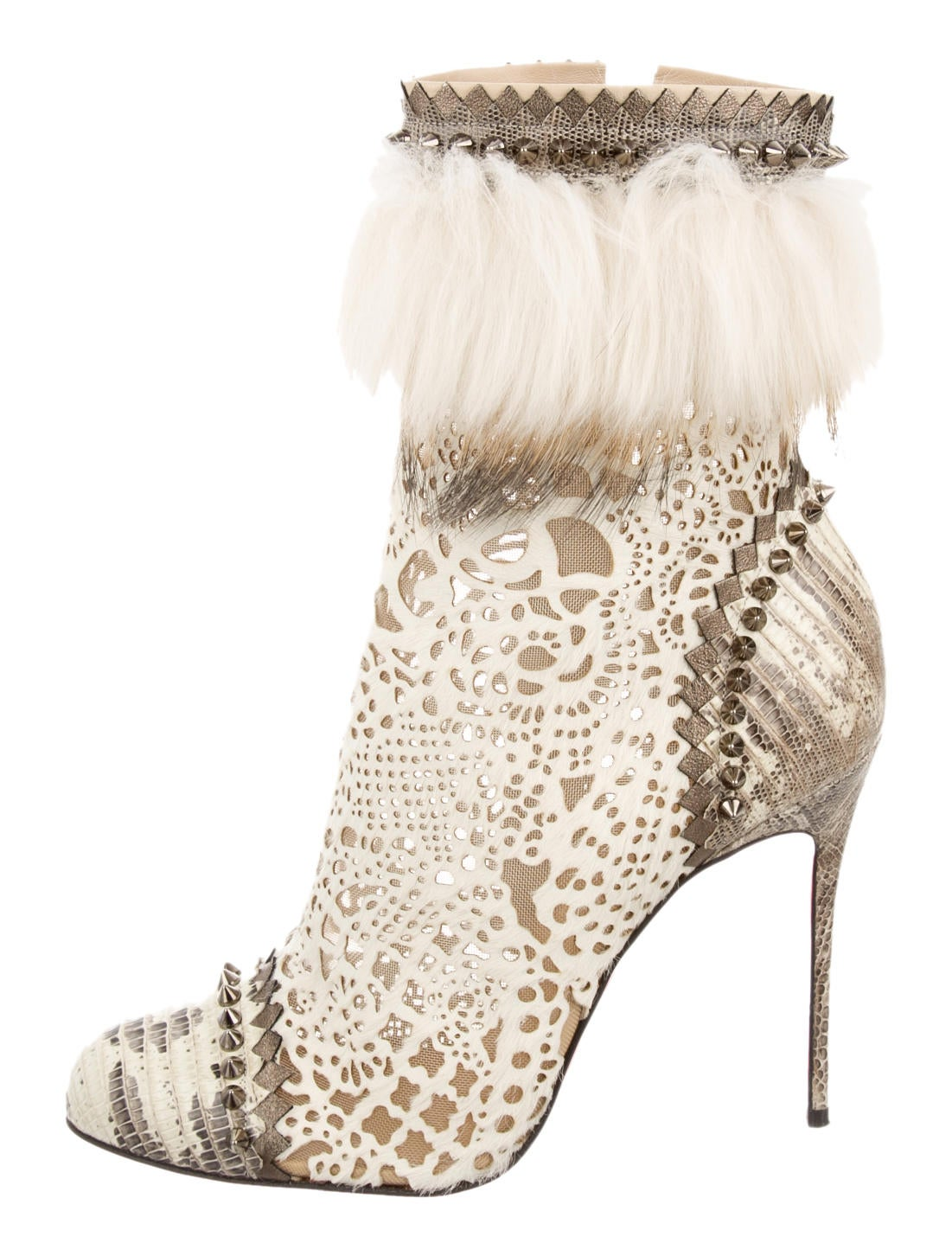 Christian Louboutin Ankle Boots - Shoes - CHT37118 | The RealReal