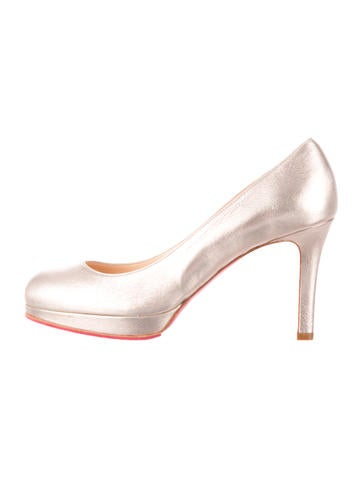 christian louboutin pointed-toe pumps Grey cobra | cosmetics ...