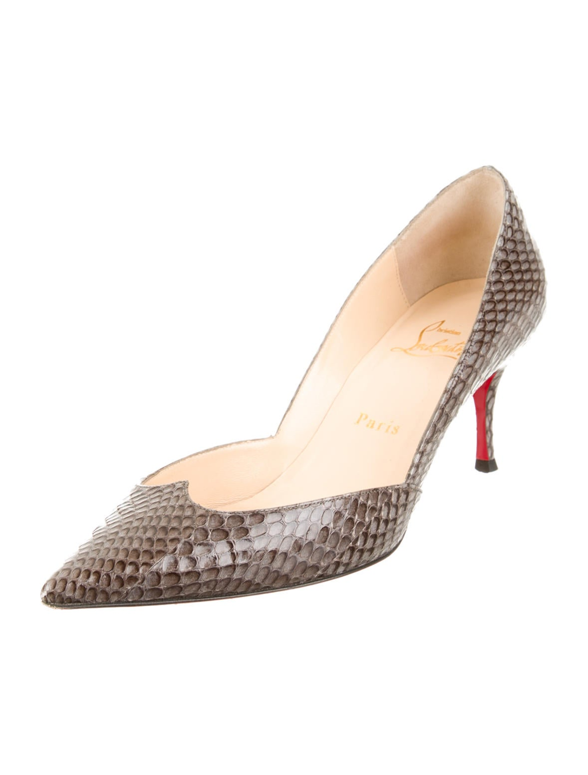 christian louboutin cobra pumps