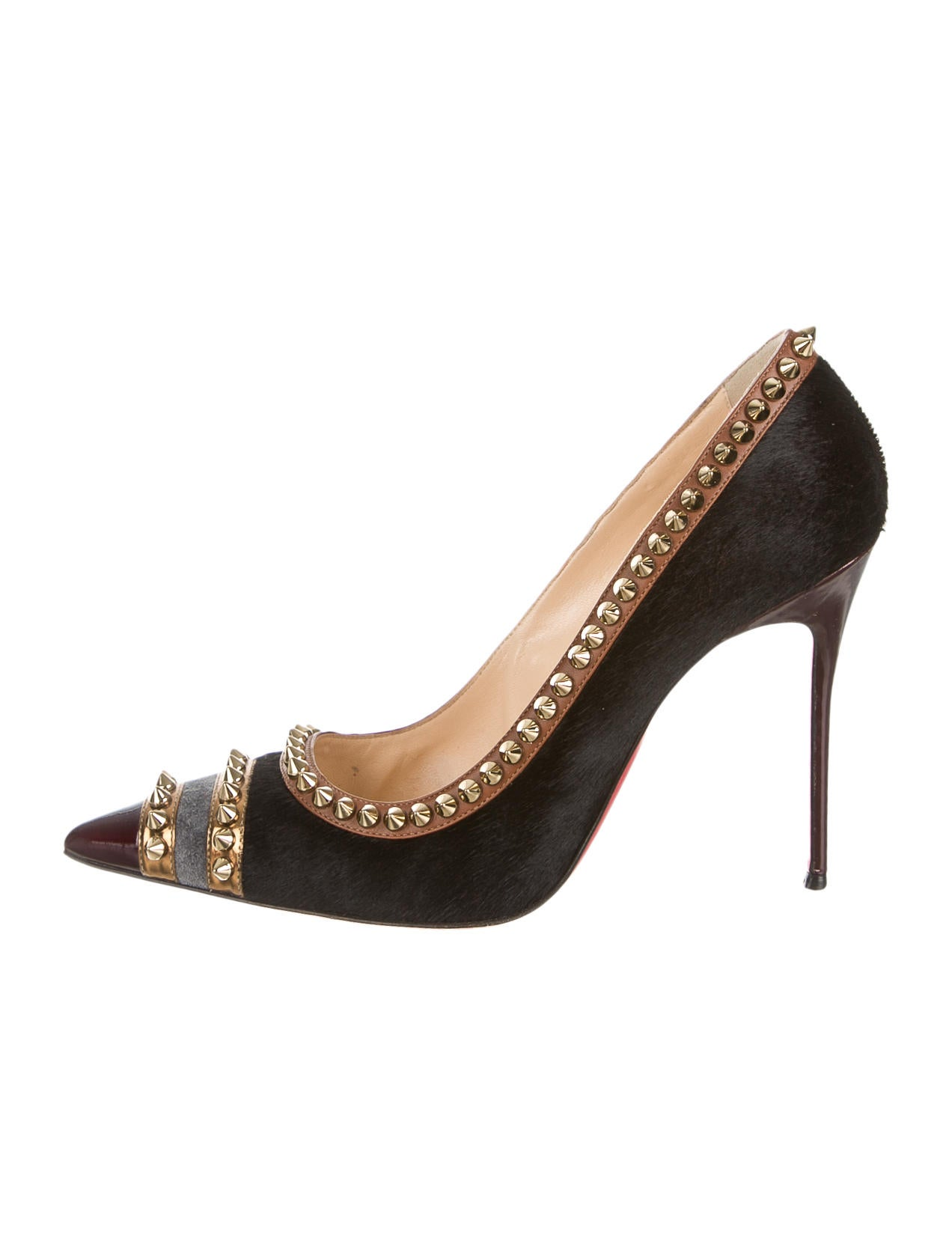 8a2c7d00edd Black Spiked Louboutin Heels Video Nick Cannon Shoe Collection | BASF