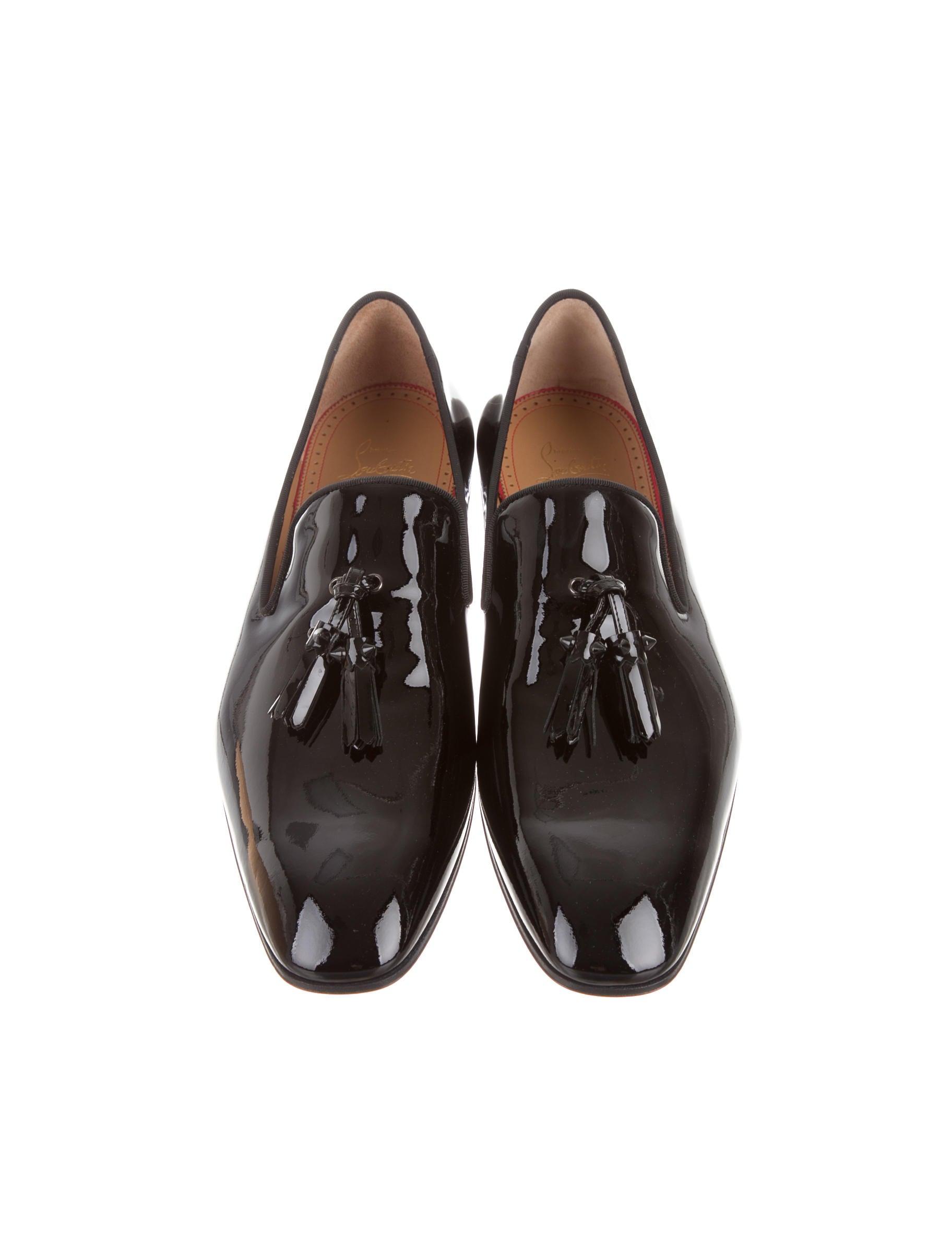 278bb67cabe ... replica mens louboutin - Christian Louboutin Dandelion Tassel Flat  Loafers - Mens Shoes ... christian louboutin leather ...