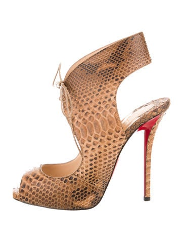 louis vuitton red bottom heels - Christian Louboutin Sandals Luxury Fashion | The RealReal