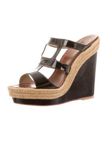 black christian louboutin mens sneakers - Christian Louboutin Espadrille Slide Sandals - Shoes - CHT43185 ...