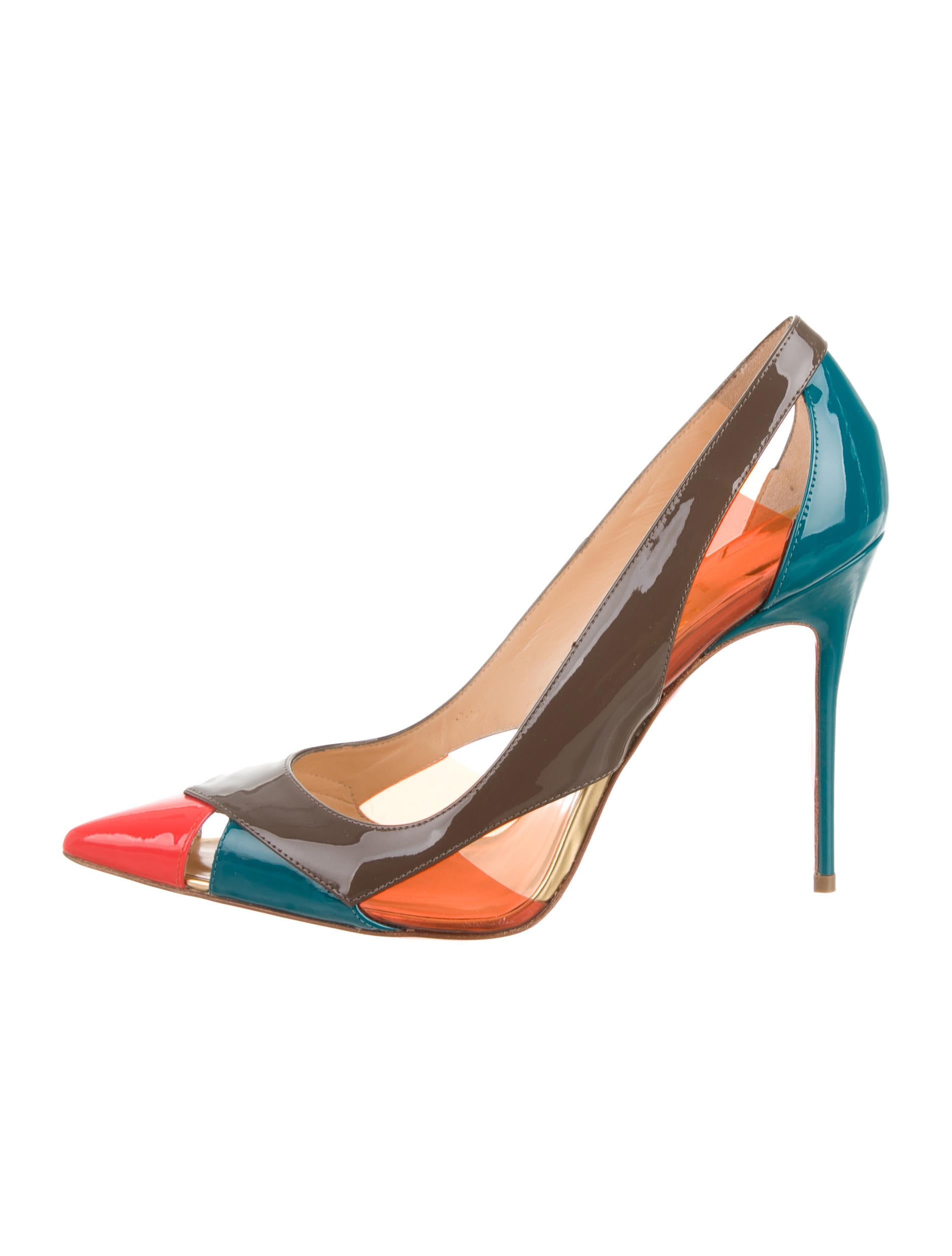 Christian Louboutin Colorblock Pumps - Shoes - CHT43557 | The RealReal